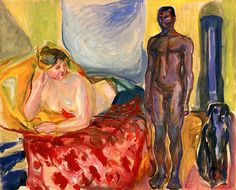 Cleopatra and the Slave Edvard Munch - 1916-1921