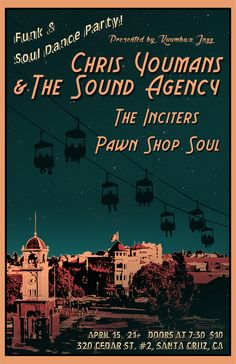 Buy Tickets Online & support local Santa Cruz musicians! Awesome Bands- come party with us! See you on April 15th!