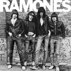 Ramones, The Ramones, LP cover.