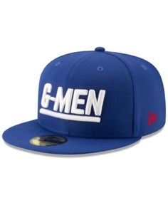 68fd4889cecf0 New Era New York Giants Logo Elements Collection 59FIFTY Fitted Cap - Blue  6 7 8