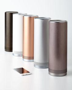 Sleek audio pillar wireless speaker. Shop the best gadgets on Keep now!