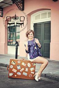 vintage suitcase...
