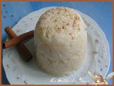 Riz au lait de noix de coco et à la cannelle, Recette Ptitchef