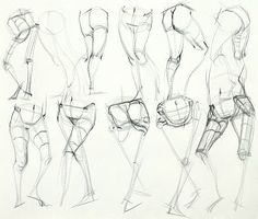 Anatomy Drawing Reference Ron Lemen Anatomy Legs t Anatomy Figure drawing Body Sketches, Anatomy Sketches, Anatomy Drawing, Anatomy Art, Human Anatomy, Anatomy Study, Male Figure Drawing, Figure Sketching, Figure Drawing Reference