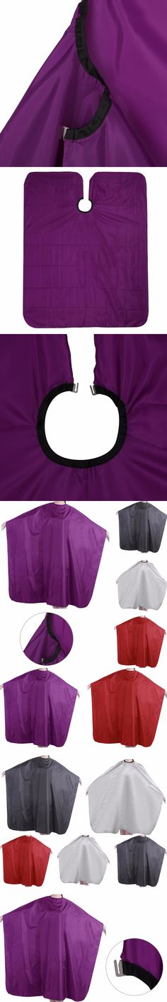 GUJHUI Pro Adult Waterproof Salon Hair Cut Hairdressing Barbers Cape Gown Cloth 1PC  -B118