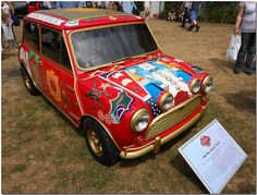 """1966 George Harrison Mini Cooper ""Tantric"" Goodwood Festival of Speed 2009"" by Antsphoto, via Flickr"