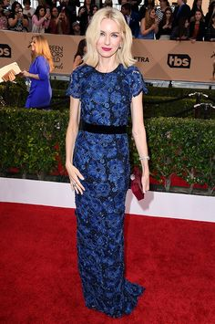 2016 SAG Awards Best Dressed: Naomi Watts WHAT: Supporting husband Liev Schreiber, actor in Motion Picture nominee Spotlight WEAR: Jimmy Choo shoes, via @WhoWhatWear