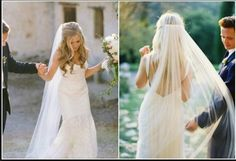 Found on Weddingbee.com Share your inspiration today! - hair down