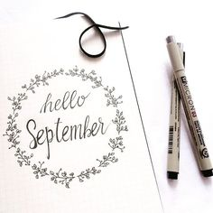 September is coming! Ready to start my new month