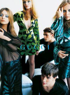 Campaign: Gucci  Season: Spring 1996  Photographer: Mario Testino