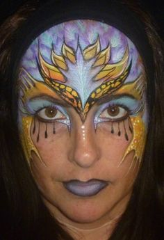 step by step phoenix mask