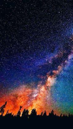 When Worlds Collide – Iphone wallpaper Night Sky Wallpaper, Galaxy Wallpaper, Iphone Wallpaper, Night Sky Stars, Night Skies, Phone Backgrounds, Wallpaper Backgrounds, Nature Wallpaper, Galaxy Art
