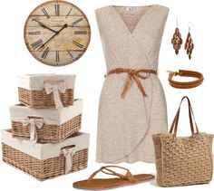 """""""Natural Weave"""" by anamaria-93 ❤ liked on Polyvore"""