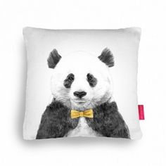 Zhu the Panda Cushion   Saatchi Gallery Store