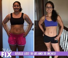 21 day fix transformation results.  see more at LindaLammie.com