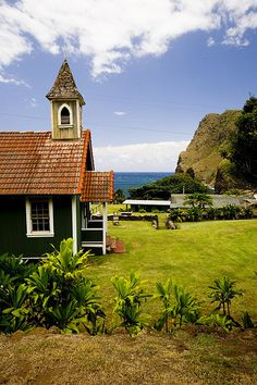Church at Old Kahakuloa Village, Maui, HI | by Andrew Meyers Photography