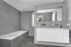 Betonstuc Badkamer Kosten : Best betonstuc badkamers images washroom