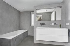 Badkamer Showroom Lisse : Beste afbeeldingen van betonstuc badkamers washroom bathroom