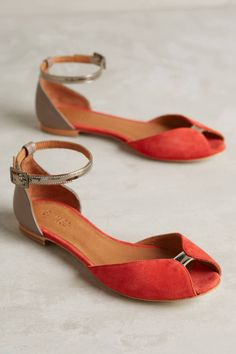 Juliette Glitter Flats by Emma Go #anthrofave #anthropologie