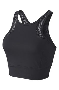 Free shipping and returns on Zella 'Chameleon' Longline Sports Bra at Nordstrom.com. Focus on your form in the comfort of a longline sports bra that doubles as a tank. The racerback is equipped to go the extra mile with a ventilating mesh panel and reflective tape.