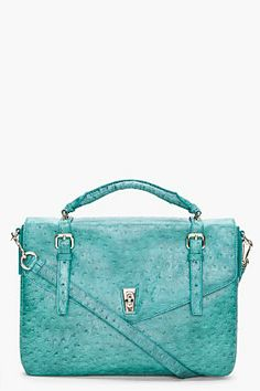 Green Intergalocktic Laptop Bag BY MARC JACOBS