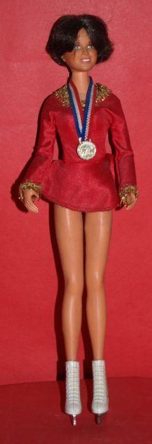 Dorothy Hamill doll - 1976 Olympic Gold Skater