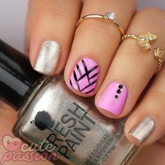 Cute nails for Sunday  #fallnails #nailsartvideos
