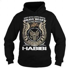 HABIBI Last Name, Surname TShirt v1 - #cheap gift #hoodies womens