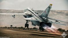 Soviet Fighter Taking Off
