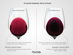 Syrah food pairing advice with Cool vs. Warm Climate Syrah
