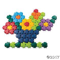 Rainbow Mosaic Pattern Puzzles