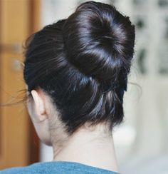 the perfect ballerina bun (video)