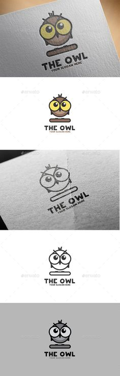 Owl Logo — Vector EPS #bird #web • Available here → https://graphicriver.net/item/owl-logo/11909700?ref=pxcr