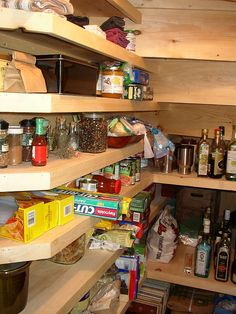another pantry under stairs