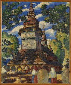 Martin Benka, Kostolík v Bystrom 1916 Hungary, Painters, Illustrators, Graphic Art, Milan, Illustration Art, Tapestry, Tattoo, Artist