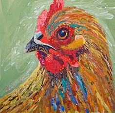 Chick-A-Dee  24x24  Available  Grand Bohemian Gallery  St. Augustine, FL