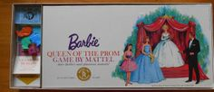 1963 #Barbie Queen of the Prom Board Game #MidCenturyFLA, http://www.etsy.com/listing/118608869/1963-barbie-queen-of-the-prom-board-game?ref=shop_home_active
