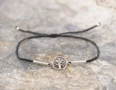 """Armbänder - Armband """"Baum des Lebens"""" 1,2cm Silber 925  - ein Designerstück von Cathy-Thica-Namaste bei DaWanda"""