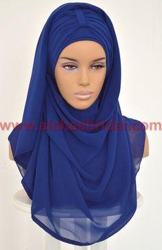 Express Hijab With Bun Code: PTS-0001  Anti Slip by HAZIRTURBAN