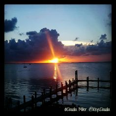 at Bayside Grille (by Claudia Miller) Fl Keys, Florida Keys, Small Towns, Photo Editor, Sunsets, Sunrise, Spaces, Design, Key Largo