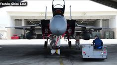 "Air Force Weapons Loaders Arm F 15 Fighters ""USA Army"""