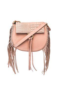 fringe mini bag