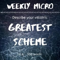 It's time for our Weekly Micro! Feel up to the challenge? Post your micro on our forum! Writing Prompts For Writers, 100 Words, Describe Yourself, Encouragement, Challenge, Feelings