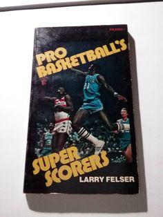 Pro Basketballs Super Scorers 1976 Paperback vintage Chamberlain Erving Robertson West more by Fchoicevintage on Etsy