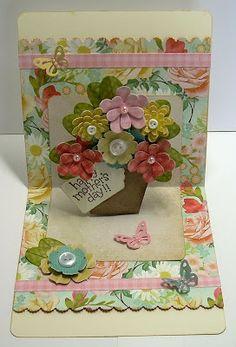 beautiful pop up card
