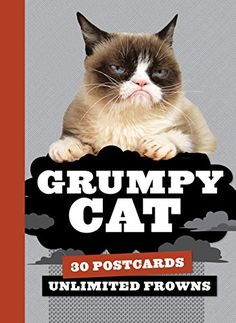 Grumpy Cat Postcard Book: 30 Postcards, Unlimited Frowns *** Check out this great article.