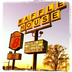 Hey Big Spender...And you never know what might happen here! Waffle House is a house of romance.