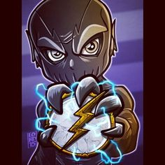 """Proof"" ⚡️⚡️ Man and I thought the Reverse Flash was bad news… #theflash #zoom #tonytodd #lordmesaart #mangastudioex5"