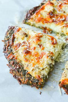 This Low Carb Broccoli Crust Pizza is an amazingly nutritious take on a classic favorite meal.