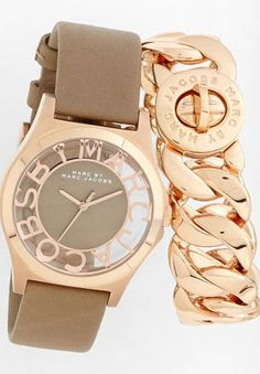 MARC BY MARC JACOBS Watch & Bracelet ♥✤ | Keep the Glamour | BeStayBeautiful